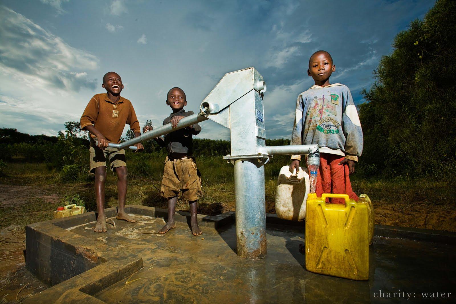 charity water rwanda