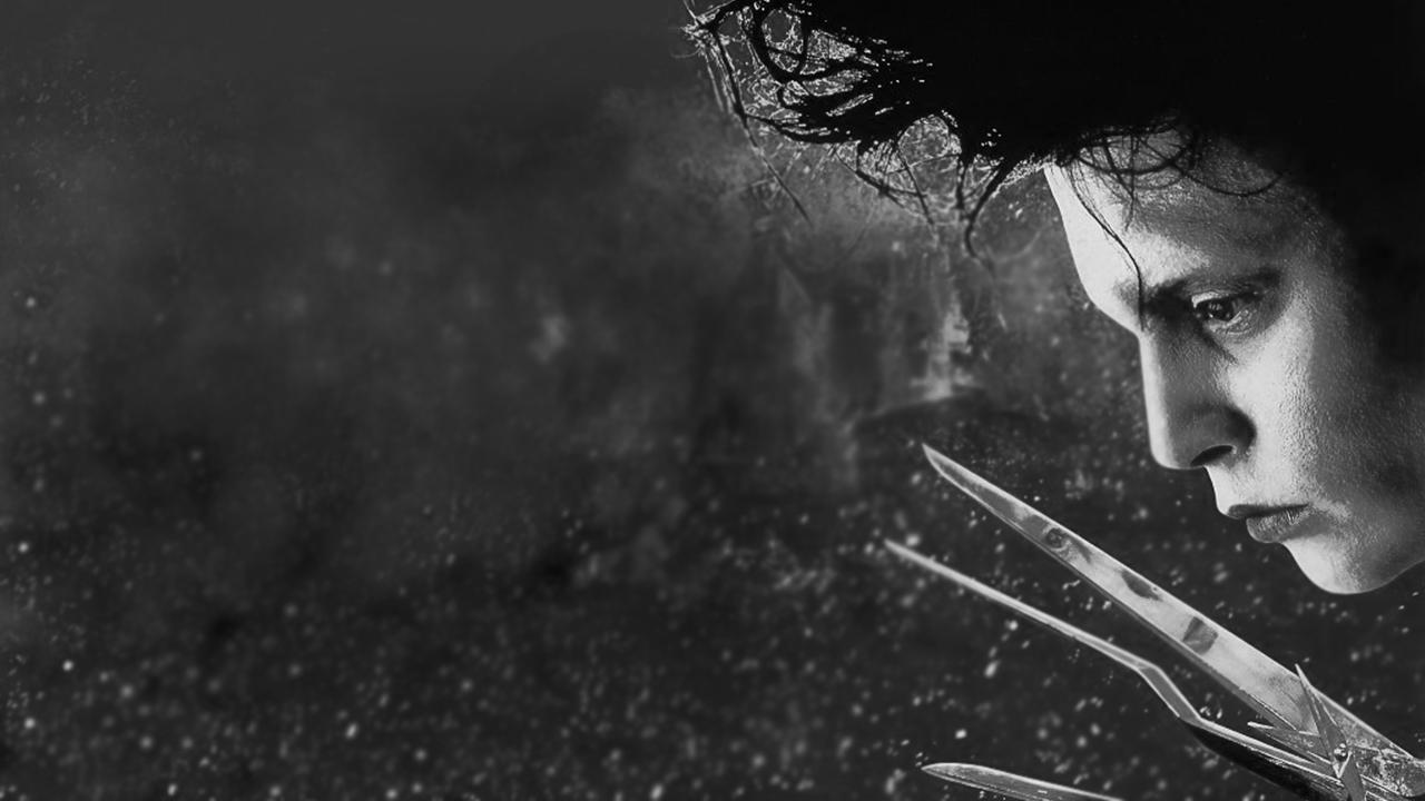 Tim-Burton-Edward mani di forbice