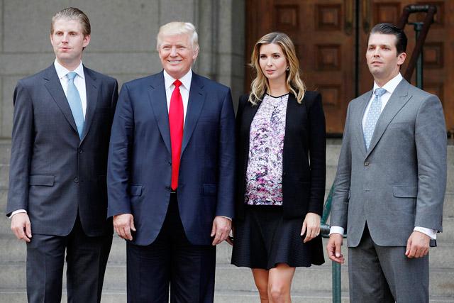 Donald-trump-famiglia