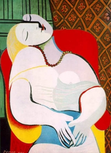 Le Rêve 1932 Pablo Picasso (130 × 97 cm)