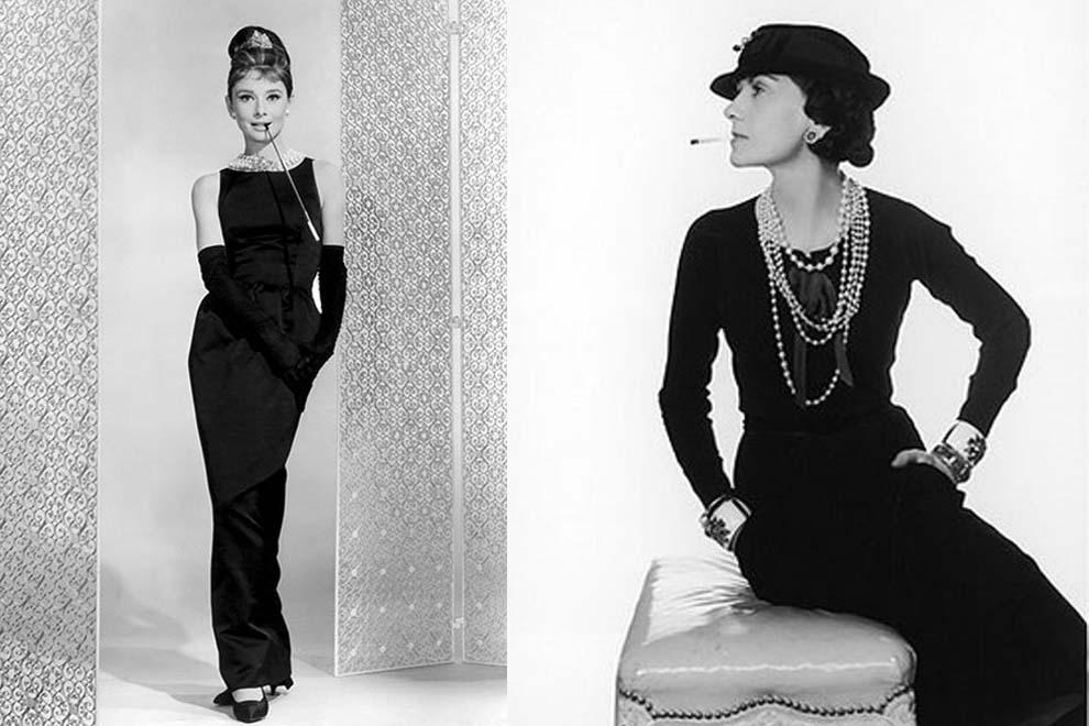 Coco Chanel- Audrey Hepburn