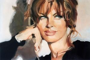 Dalila di Lazzaro in un ritratto di Andrea Facchini